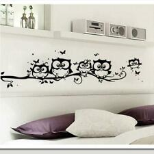 WALL STICKERS! Kids Vinyl Decal Decor Interior Home Art Owl Butterfly Sticker UK