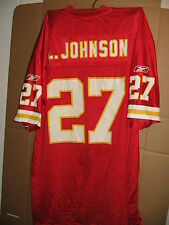 Kansas City Chiefs Jersey #27 Reebok Larry Johnson XL Football NFL FREE SHIP