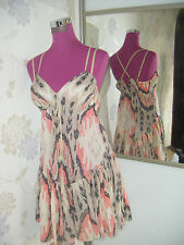 Stunning  All Saints Ikat Dress  Size 10 (8-12)  Excellent Condition