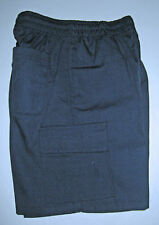 NEW school uniform Cargo shorts pants Navy size 5 to 16