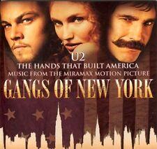 "U2 RARE PROMO GANGS OF N.Y."" THE HANDS THAT BUILT AMERICA"" EU CARDSLEEVE PROMO"
