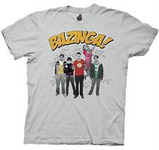 The Big Bang Bazinga Group Adult Shirt Size Small