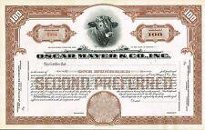 USA OSCAR MAYER & CO stock certificate