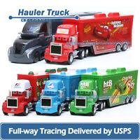 Lot Mattel Disney Pixar Cars Mack Hauler Truck 1:55 Diecast Toys Car Loose New