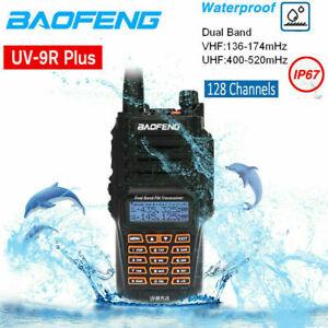 BaoFeng 18W UV-9R Plus Dual Band VHF UHF 2 Way Walkie Talkie Hand Funkgeräte