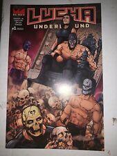 Lucha Underground 1 El Rey Network SXSW 2016 Rare  NM Comic Graphic Novel