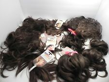 9 POP Hair U Wear Clip In Extensions Pony Tails HairUWear R10 Chestnut Brown