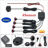 Adjustab 4 Parking Sensors Car Reversing Radar Backup Buzzer Warning Alarm Kit