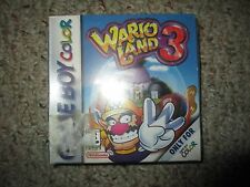 Wario Land 3 (Nintendo Game Boy Color, 2000) NEW Factory Sealed