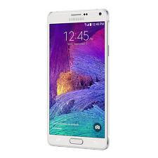 5.7'' Samsung Galaxy Note 4 N910T 32GB 3G 4G LTE Unlocked Smart Phone - White