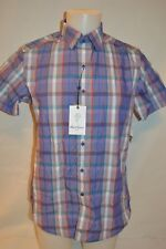 ROBERT GRAHAM Man's QUEENS BRIDGE Short Sleeve Shirt NEW Size Small Retail $198