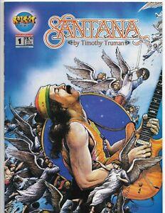 Santana #1 // by Timothy Truman // Malibu Rock-It Comics