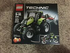 LEGO 9393 Technic Tractor Complete Set With Box And Instructions