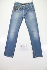 Levis 511 Slim (Cod. U845) Tg43 W29 L32 jeans used High Waist Vintage Original