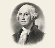 "Engraved Presidential Portraits- Large 9""X12"" W/4""X5"" Image-Bureau Of Engraving"