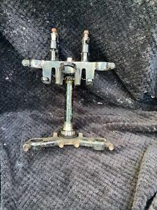 Kawasaki Er-5 Fork yoke Er500 Top yoke with bar risers er5 top & bottom yoke