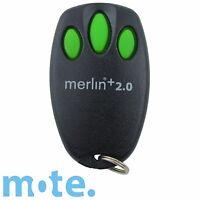 Merlin+ 2.0 E945M Genuine Garage Door Remote Suits Steel-Line ST50EVOB ST50EVO