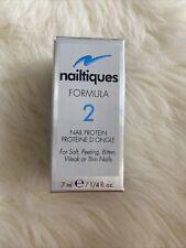 Nailtiques Formula 2 Nail Protein for Soft Peeling Bitten Weak Thin Nails 7 mL
