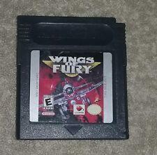 Game Boy  Wings of Fury Video Game