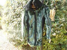 RARE manteau DESIGUAL T 40 CHAUD TBE GLAMOUR A 65€ ACH IMM FP RED MON RELAY !