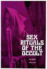 SEX RITUALS OF THE OCCULT Movie POSTER 27x40 Steve Vincent