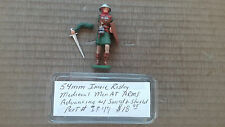 54mm Imrie- Risley Miniatures  Medieval Man At Arms advancing w/ Sword & Shield