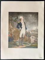 1926 - Lithographie portrait de Lafayette. Portrait of Lafayette