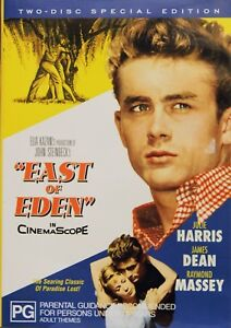 East of Eden DVD 1954 Movie James Dean 50s Classic Old 2 Disc Set + Special Feat