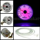 Universal 2'' 52mm Car Auto LED Turbo Boost Vacuum Press Meter Gauge -1~2Bar 12V