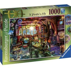 Ravensburger AIMEE STEWART - A PIRATE'S LIFE Jigsaw Puzzle1000 pc FREE UK P&P