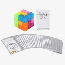 3x3x3 Magnetic Cube Puzzle Twist Building Blocks Stress Relief Kid Game Toys