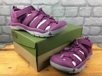 KEEN UK 2 EU 35 NEWPORT H2 PURPLE GREY SANDALS CHILDRENS GIRLS RRP £35 C