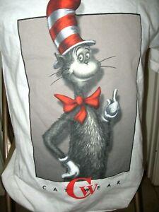 Vintage Cat In The Hat Dr, Seuss 1997 Cat Wear SM  Shirt