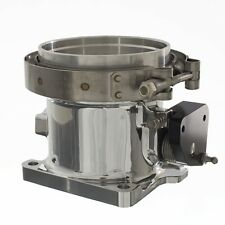 Accufab New Style 90mm Mustang 5.0L 86-93 Polished V-Band Throttle Body w/ Kit
