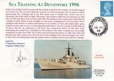 3RNCHSP52 Sea Training at Devonport Italian Naval Ship EURO Signed Commander