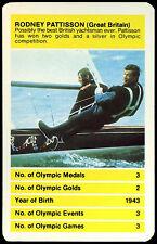 Rodney pattison, grande-bretagne olympique all time greats top emporte sur carte (C257)