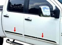 """fit:2004-2010 Nissan Armada Body Side Molding Trim Overlay Cover 4Pc 3"""""""