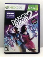 Dance Central 2 (Microsoft Xbox 360, 2011) Complete Tested Working