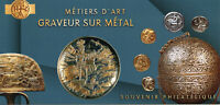 France Stamps 2020 MNH Metal Engraver Metiers D'Art 1v Set M/S Phil Souvenir