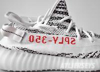 Adidas Yeezy Boost 350 V2 Zebra Kanye 100% Authentic White Red Size 4-14 CP9654