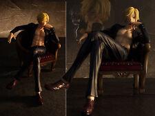 Neu Japan Anime One Piece POP Sanji PVC Figuren Figur 14cm No Box Smoking Ver.