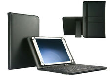 "10.1"" QWERTY Keyboard Case Book Cover For Samsung Galaxy Tab 2 P5110 - Black"