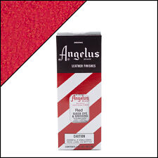 Angelus Brand Red Suede Dye & Dressing with Applicator in 3 Fl. Oz.