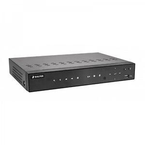 Hybrid HD-TVI/AHD/CVI Analog 4-Kanal Videorekorder+ 2x IP Kameras