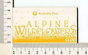 41160) AUSTRALIA 1986 MNH** QEII Alpin Flowers Scott#996b