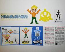 SE628 Aquaman Mit Bpz Aus Italien Ferrero 2019 Justice League Kinder Joy