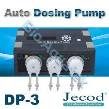 Jecod / Jebao 3 Channel Auto Master Dosing Pump DP-3 Marine Aquarium Doser