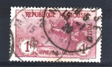 "FRANCE STAMP TIMBRE N° 154 "" ORPHELINS 1F+1F LA MARSEILLAISE "" OBLITERE TB R490"