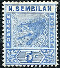 Mint Hinged Postages Settlements Stamps
