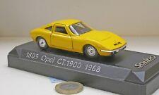 Solido 1805:  Opel GT 1900,  1968,  gelb